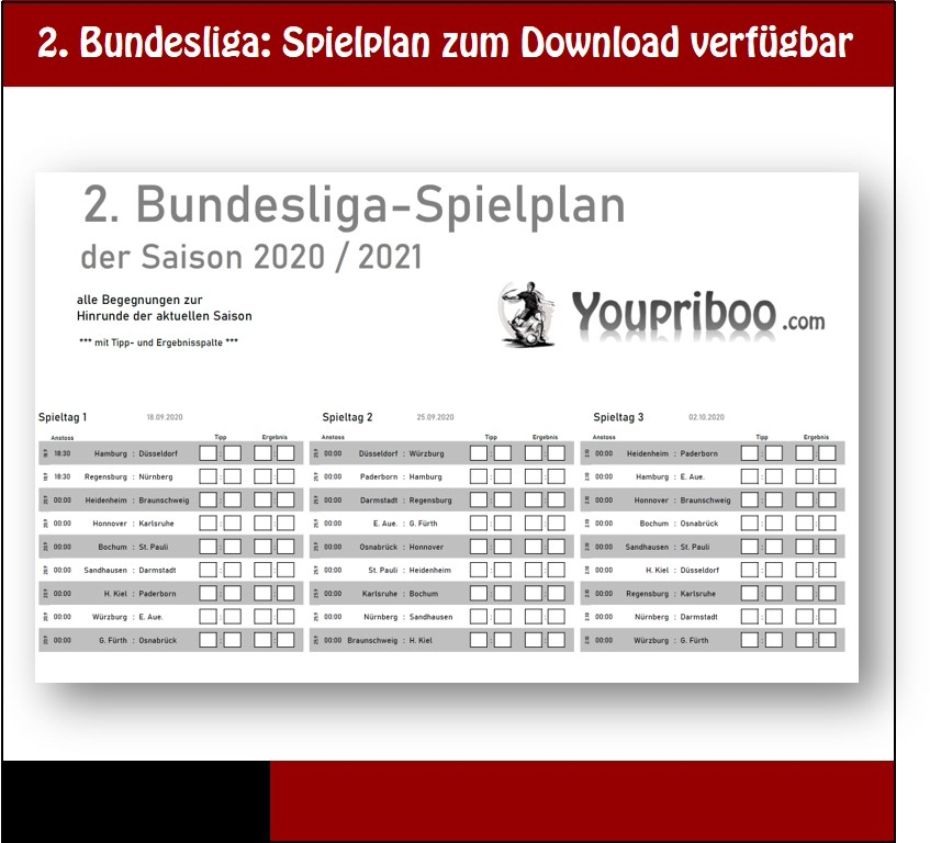 Bundesliga Spielplan 2021 Pdf